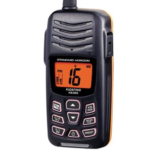 Handheld VHF radio HX300S Standard Horizon