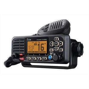 Radio VHF fixe ICOM M330 avec connectivite NMEA 0183 (noir)