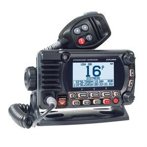 Radio VHF fixe Explorer GX1850G avec GPS de Standard Horizon (noir)