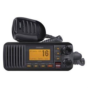 Radio VHFavec DSC fixe Uniden UM385 (noir)