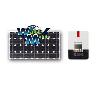 EcoSolPlanète 200W +MPPT 20A Rigid Solar Panels Kit