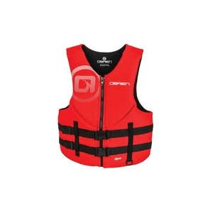 O'BRIEN MEN'S TRADITIONAL LIFE JACKET RED