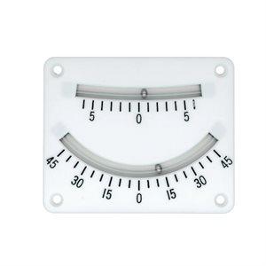 2 scales clinometer