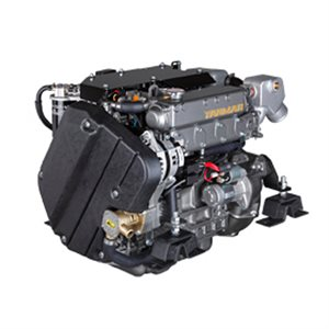 Yanmar diesel engine 4JH57 57HP with transmission 2,33:1
