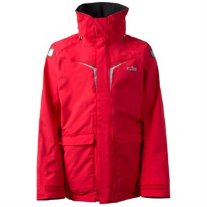 Gill OS31Coast Adventure jacket for men (Bright Red)