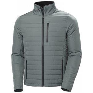 Helly Hansen Men Crew Insulator 2.0 Jacket (grey) (M)