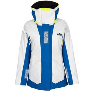 Gill OS24 Women Jacket (white / blue) (M)