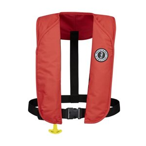 Automatic inflatable vest MIT 100 (Red)